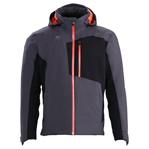 Descente Mens Rage Insulated Jacket (X-Large, Anthracite (Descente Black Jacket)