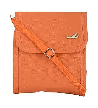 fc0dc159a49 PackNBUY Orange Sling Travel Passport Organizer Case  Amazon.in  Home    Kitchen