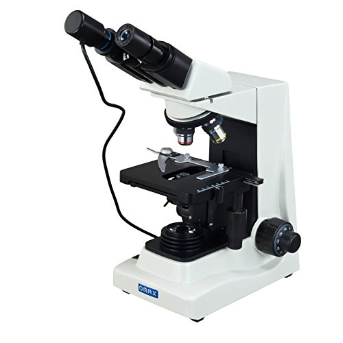 OMAX 40X-1600X Compound Binocular Siedentopf Microscope+USB Camera
