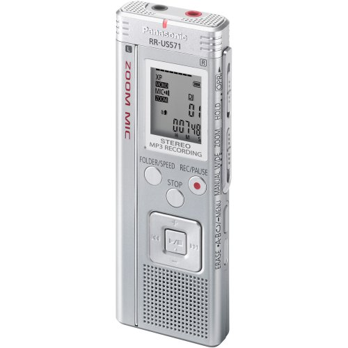 Panasonic RR-US571 2 GB Digital Voice Recorder by Panasonic
