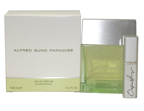 Paradise by Alfred Sung Eau De Parfum Spray 3.4 - Pure Alfred Perfume Sung