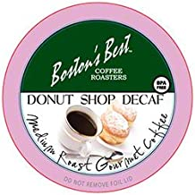 Boston's Best Donut Shop Decaf Coffee Single Serve K-Cup, 72 Count
