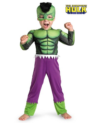 Hulk Toddler Muscle -