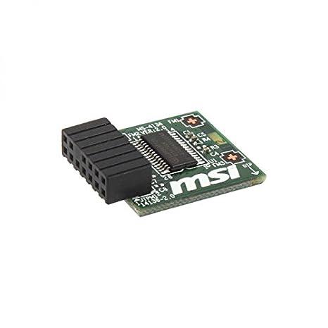 Amazon.com: MSI 914-4136-105 TPM 2.0 Module Infineon Chip SLB 9665