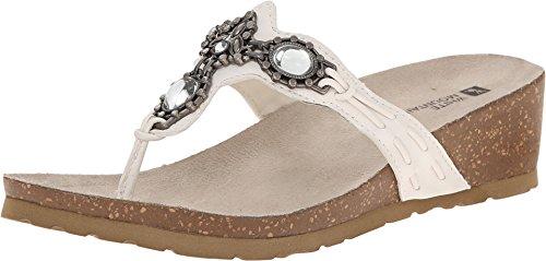White Mountain Women's Cardenia White Sandal
