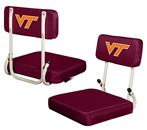 Logo Chair Virginia TECH Hokies Hard Back Stadium SEAT