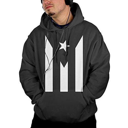 ROUND-3 Puerto Rico Resiste Boricua Flag Se Levanta Custom Cool Mens Hooded Sweater | Graphic Jacket Sweatshirt With Pockets Christmas Color Pages Printable
