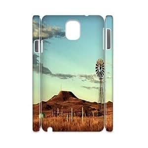 Windmills DIY 3D Case for Samsung Galaxy Note 3 N9000, 3D Custom Windmills Case