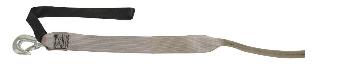 BoatBuckle P.W.C. Winch Strap with Tail End, 2-Inch x 15-Feet by BoatBuckle