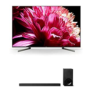 "Sony XBR55X950G 55"" BRAVIA 4K Ultra HD HDR Smart TV and HT-X9000F 2.1-Channel Dolby Atmos Soundbar with Subwoofer"