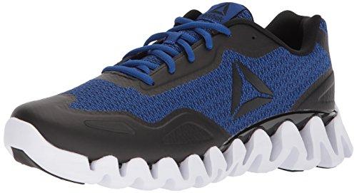 Reebok Men's Zigpulse-SE Sneaker, Knit-Black/Collegiate Royal/White, 11 M (Collegiate Royal Footwear)