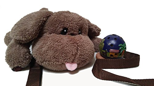 Yuri Winner's Puppy cross-body bag (Brown)