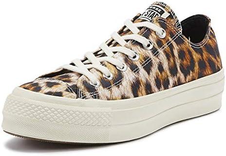 tukkukauppa Uutuudet myynti verkossa Converse Chuck Taylor All Star Lift Wild Womens Leopard Ox ...