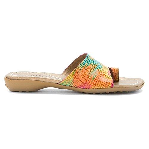 Sandalo Femminile Di Vaneli Tallis Multi Fucsia Blix Squama