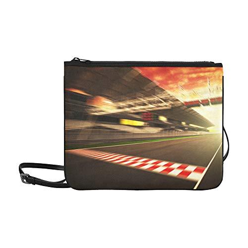 Motion Blurred Car Race...