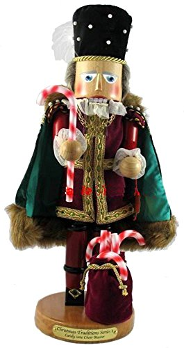 Retired Signed Herr Christian Steinbach *Candy Cane Choir Master* LE Nutcracker 1st in Christmas Traditions (Steinbach Signed)