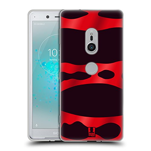 Head Case Designs Red Banded Poison Dart Frog Patterns Soft Gel Case for Sony Xperia - Banded Soft Shell