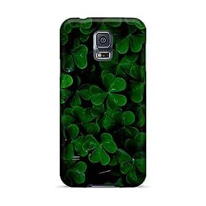 Samsung Galaxy S5 XOX9743VtRw Custom Attractive Green Day Pattern Anti-Scratch Hard Phone Cases -SherieHallborg
