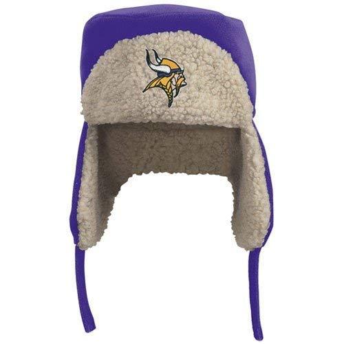 Reebok Minnesota Vikings Purple Fleece Trooper Cap (Large/X-Large) by Reebok