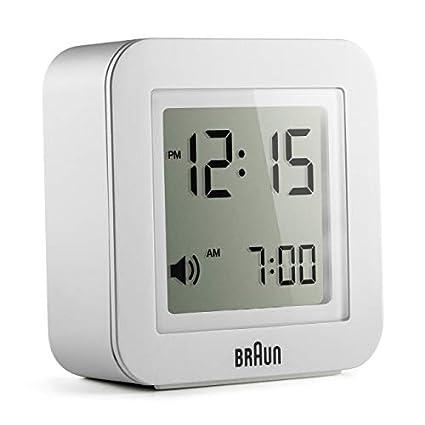 LTOOD Reloj Despertador Reloj alemán Reloj de Alarma Digital ...