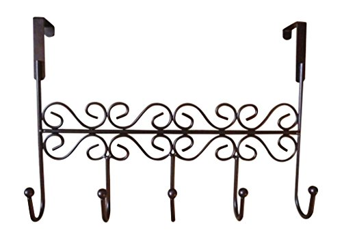 Practical Style Vintage Fieans the Hanger Hook Hooks Holders Rack Towel Rack White Door Brown Steel Stainless Over Organizer qXddx5