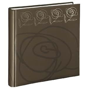 Hama Wild Rose Jumbo 94521 - Álbum de fotos (30 x 30 cm, 100 páginas), color marrón