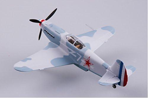 1/72 完成品 37229 Yak-3 ソ連第1空軍 ノルマンディ・ニーメン飛行連隊 1944 冬季