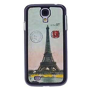 Caso duro de la torre de París del patrón para Samsung i9500 Galaxy S4