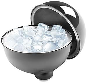 LaBoul IceBoul Insulated Ice Bucket, Chrome