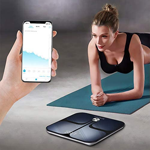 Digital Scale - Wi-Fi Bluetooth Auto - Switch Smart Scale Digital Weight, Body Fat Scale for Weight, 14 Body Composition Monitor with iOS, Android APP, Support Unlimited Users, Auto - Recognition 5