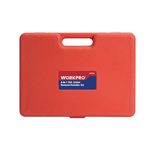 WORKPRO 4-in-1 Ball Joint Service Tool Kit 2WD & 4WD Remover Installer with 4-Wheel Drive Adapters by WORKPRO (Image #4)