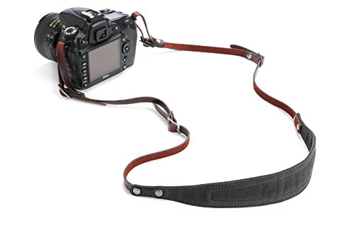 ONA The Lima Handcrafted Canvas/Leather DSLR Camera Strap