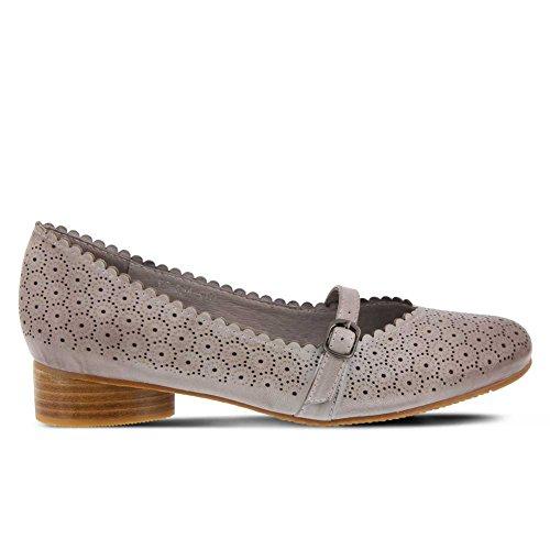 Grey Jane Gittel Shoe Mary Women's Leather Step Spring Style w8q66z