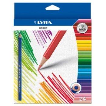 crayons de couleur mine incassable