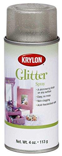 Krylon Glitter Spray, Shimmering Silver