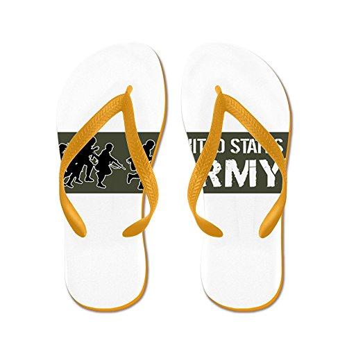 Cafepress Oss Armé: United States Armé (militär - Flip Flops, Roliga Rem Sandaler, Strand Sandaler Apelsin