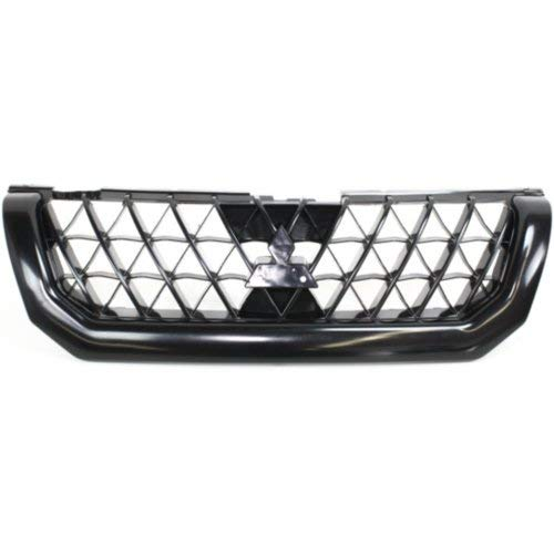 Garage-Pro Grille Assembly for MITSUBISHI MONTERO SPORT 02-03 Ptd-Black ()