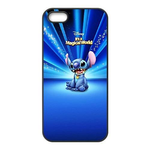 F8Q65 Disney Lilo et Stitch A6R6EI coque iPhone 4 4s cellulaire cas de téléphone couvercle coque noire KP1QOH5EP