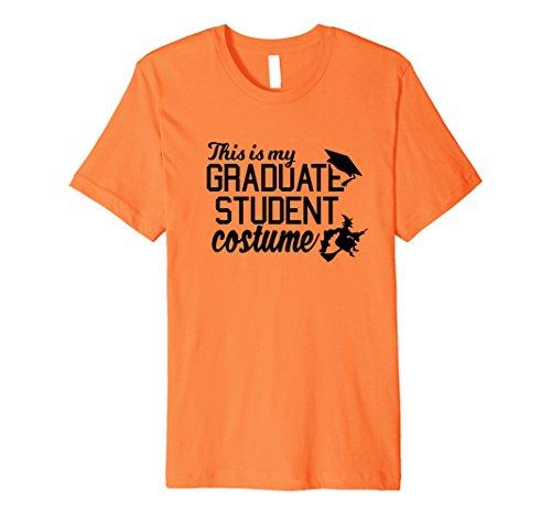 [Mens Graduate Costume October College Graduation T Shirt 3XL Orange] (College Graduate Halloween Costume)
