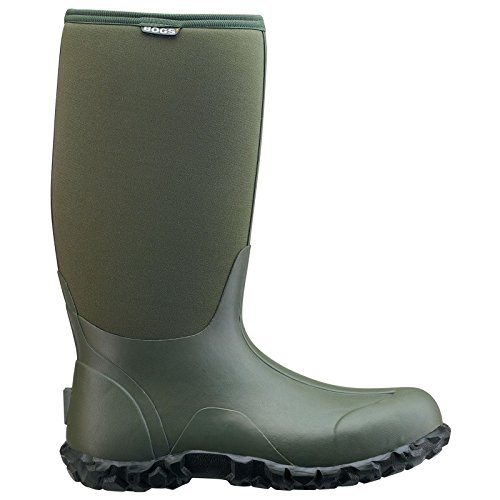 Bogs Mens Classic High Waterproof Boot Green gWPW8YXtZc
