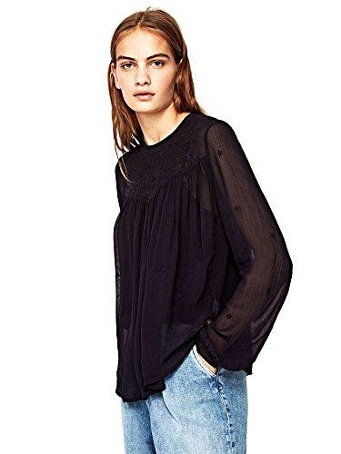 Pepe Jeans PL302161 Blusa Femmes Noir L