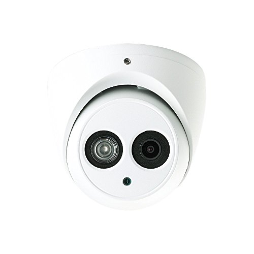 HAC-HDW1400EM 4 Megapixel HD-CVI Matrix IR Dome Security Camera 165FT Night Vision Outdoor Weatherproof IP67 HD Over Coax 2.8mm wide angle view 4MP -