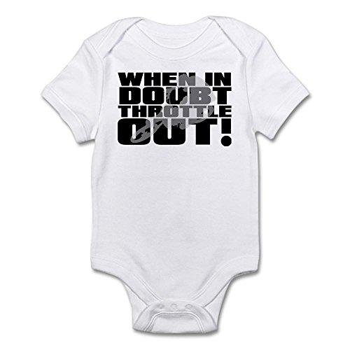 CafePress Throttle Motocross Infant Bodysuit