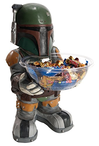 [Star Wars Boba Fett Candy Bowl Holder] (Halloween Decorations New York)