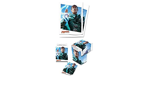 Ultra Pro MTG Oath Of The Gatewatch Jace Deck Box /& Sleeves 80 ct.