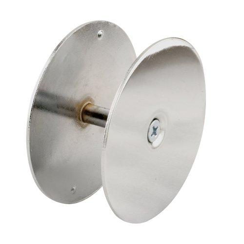 Defender Security U 9531 Door Hole Cover Plate, 2-5/8 inch Diameter, (Remodel Cover Plate)