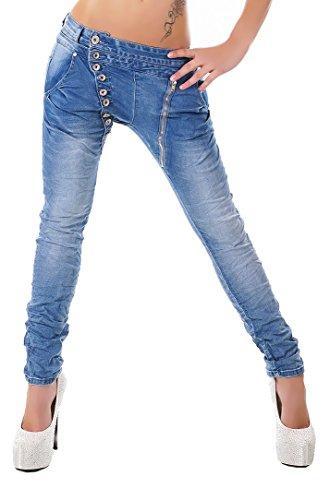 Mozzaar , Farbe:Jeans, Gr??e:XS