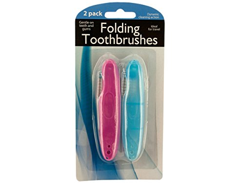 Folding Travel Toothbrushes-Package Quantity,72