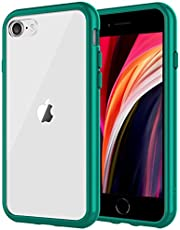 JETech Case Compatible with iPhone 8, iPhone 7, iPhone SE 2020, 4.7-Inch, Shockproof Bumper Cover, Anti-Scratch Clear Back