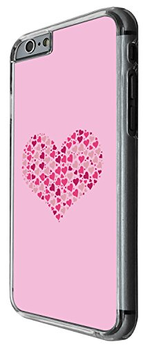 1409 - Cool Fun Trendy cute kwaii valentines day heart love quote pink heart collage Design iphone 6 Plus / iphone 6 Plus S 5.5'' Coque Fashion Trend Case Coque Protection Cover plastique et métal - C